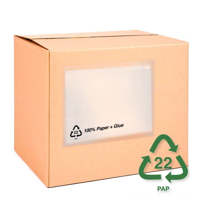 Pochettes porte - documents en papier - Sans impression