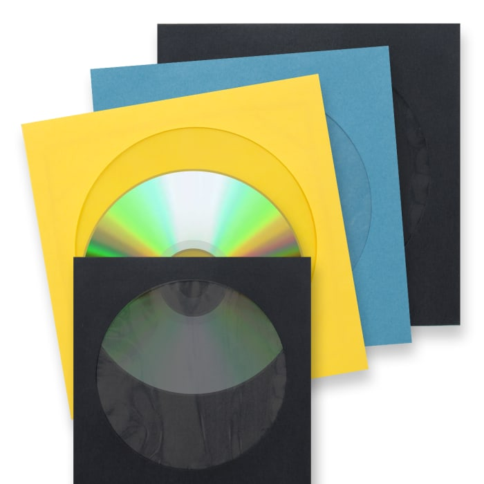 Papierové obálky na CD s okienkom