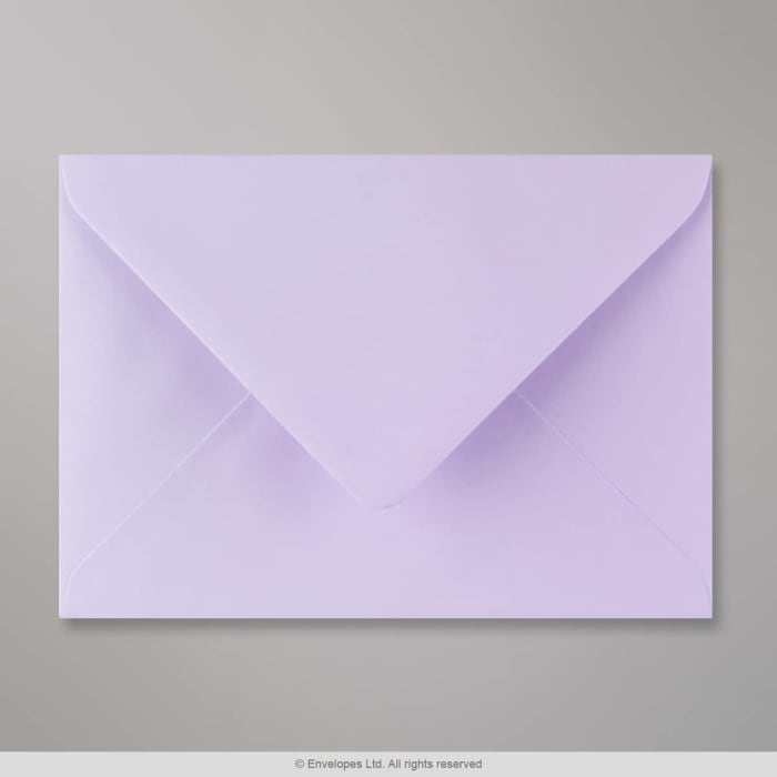 Enveloppe lilas 125x175 mm