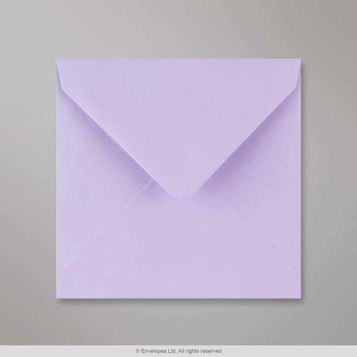 130x130 mm Lila envelop