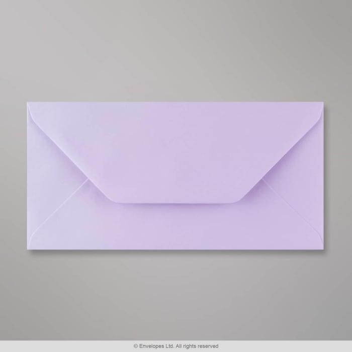 Liila kirjekuori 110x220 mm (DL)