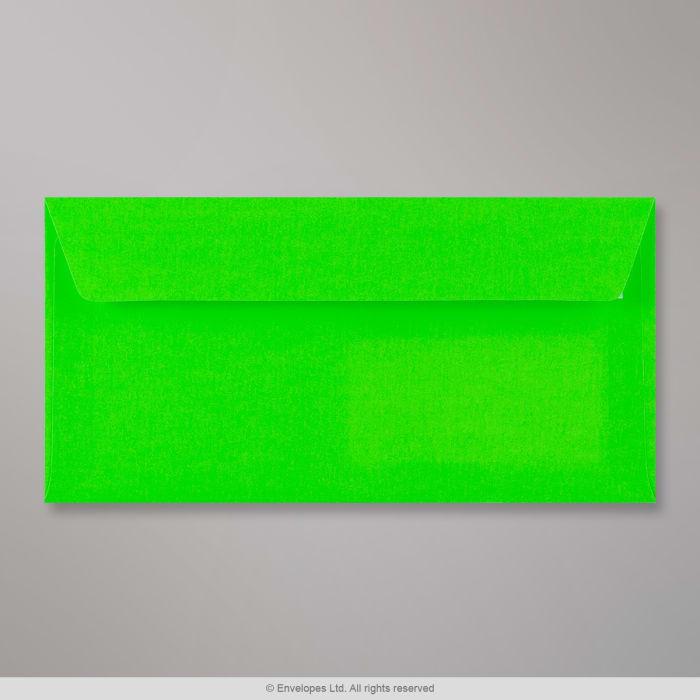 110x220 mm (DL) Busta verde fluorescente