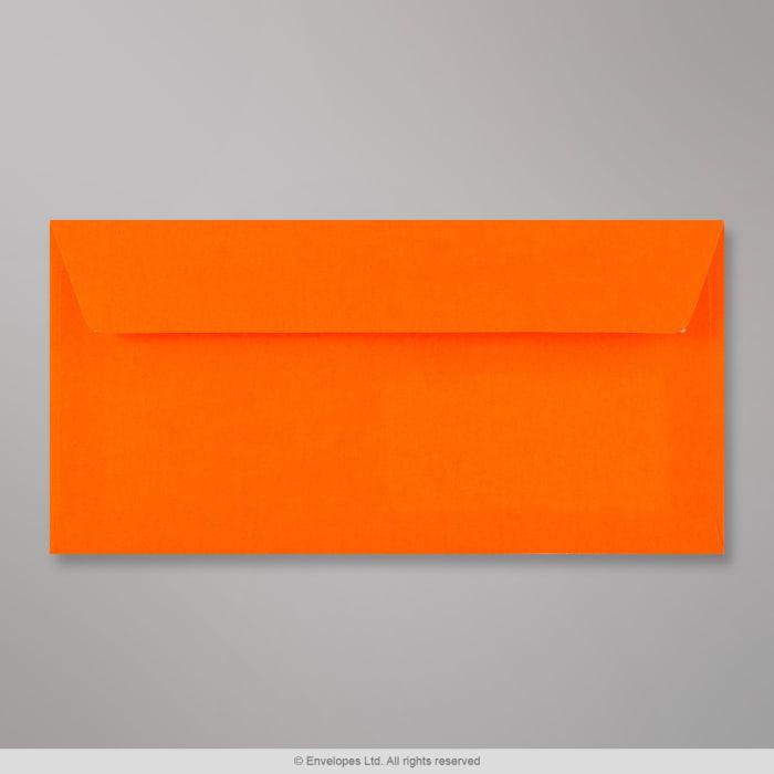 Enveloppe orange néon 110x220 mm (DL)