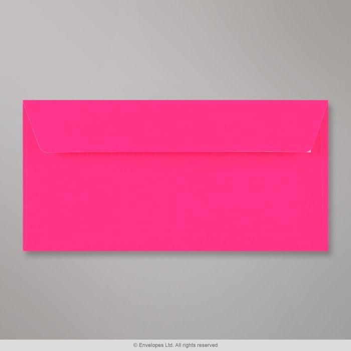 110x220 mm (DL) Neon Roze Envelop