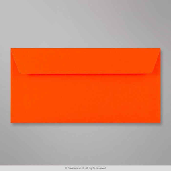 110x220 mm (DL) Busta rosso fluorescente