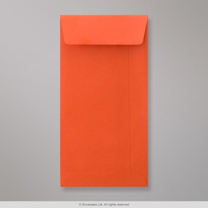Enveloppe format poche orange 220x110 mm (DL)