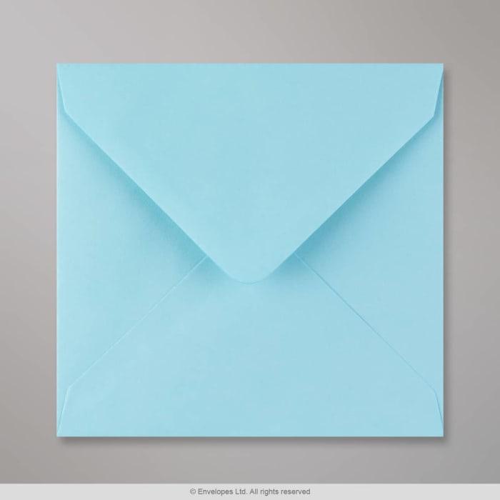 Haaleansininen kirjekuori 140x140 mm