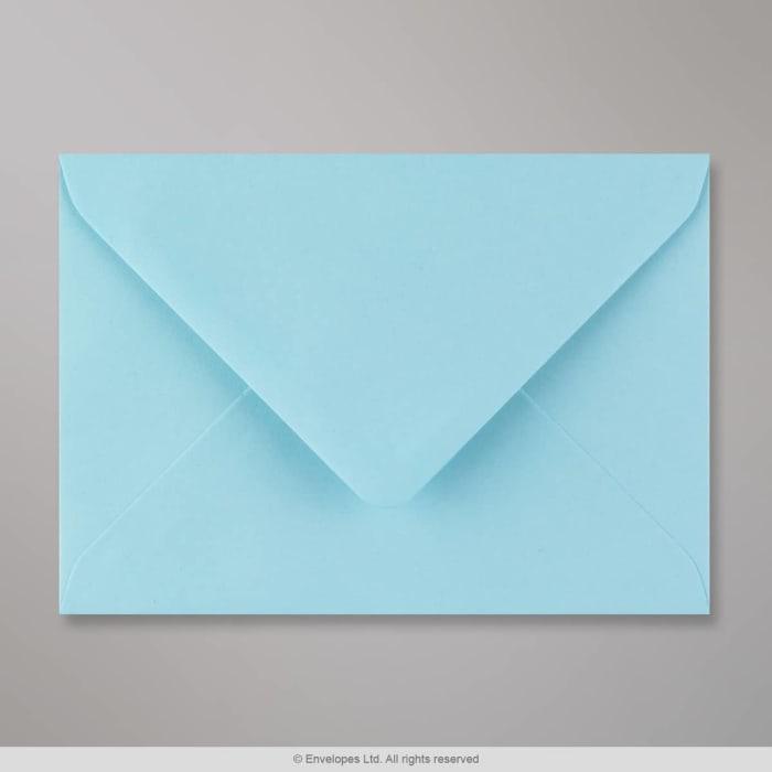 114x162 mm (C6) Ljusblått kuvert