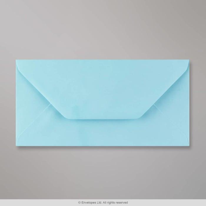 Pastelově modrá obálka 110x220 mm (DL)