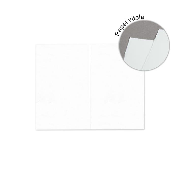 Tarjetas de visita de papel artesanal de 54x85 mm