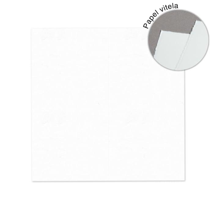 Håndlavede papirkort DL halvfold, portræt
