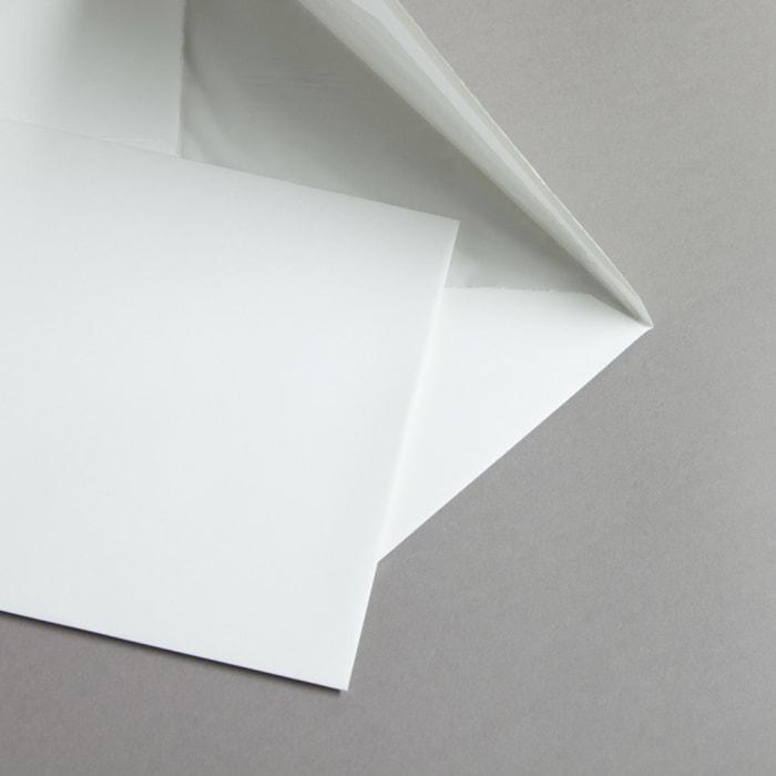 Handmade paper white 162x229 mm (C5)