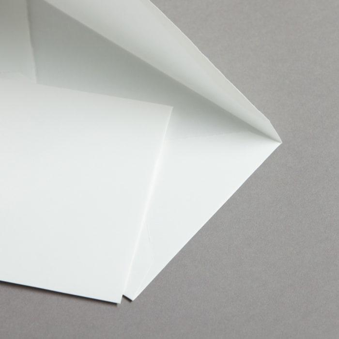Buste in carta vergata bianco 118 x 182 mm