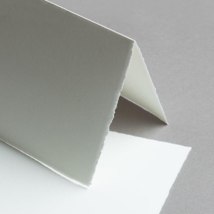 Handmade paper cards Diplomat half-fold, portrait