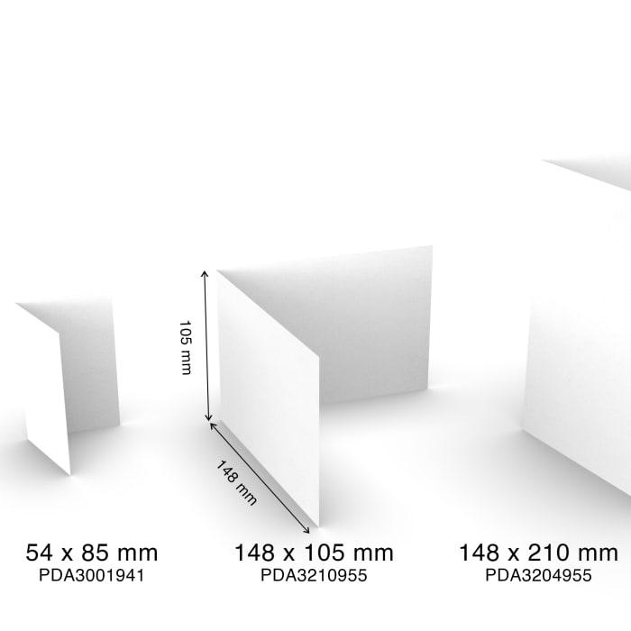 Handmade paper cards A6 half-fold, landscape