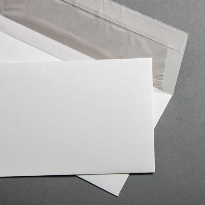 Buste in carta vergata bianco DL