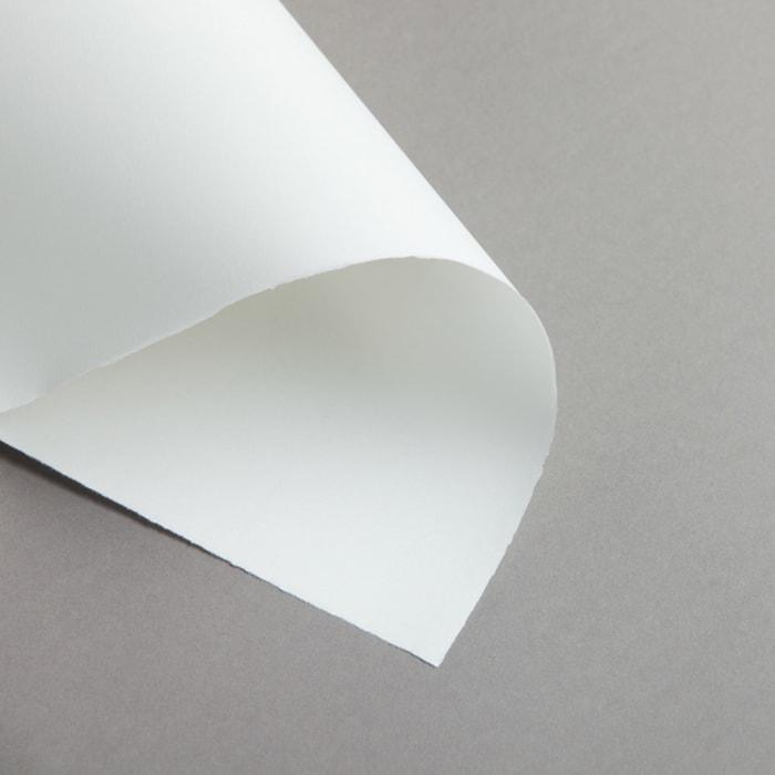 Handmade paper semi-matt laid A4 95 g white