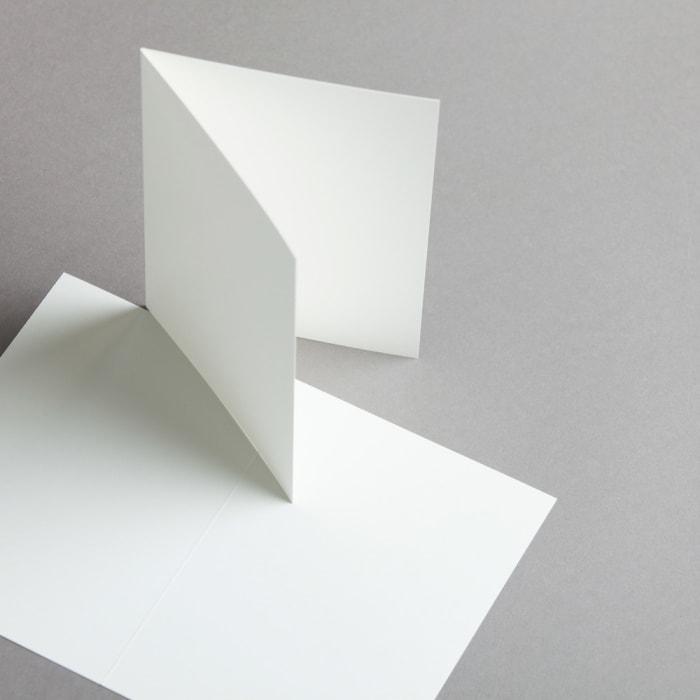 Cartes Opaline A6 double haut