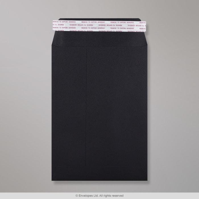 229x162 mm (C5) Zwarte envelop