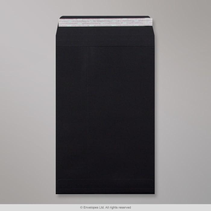 324x229x25 mm (C4) Czarna pojemna koperta Post Marque