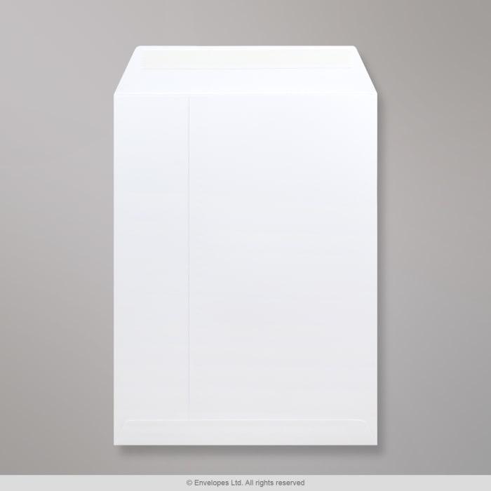 Enveloppe blanche cartonnée 330x248 mm
