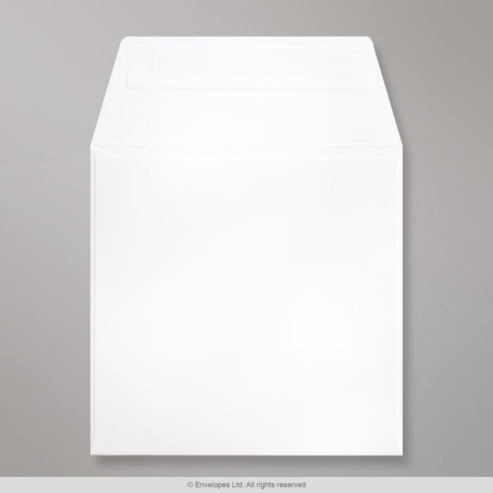 125x125 mm Biała koperta Post Marque