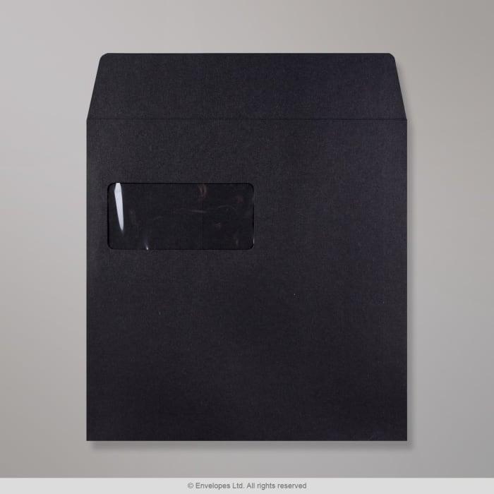 220x220 mm Čierna Post Marque obálka