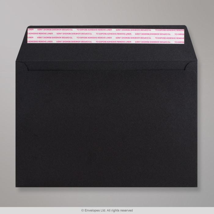 162x229 mm (C5) Busta Post Marque nera
