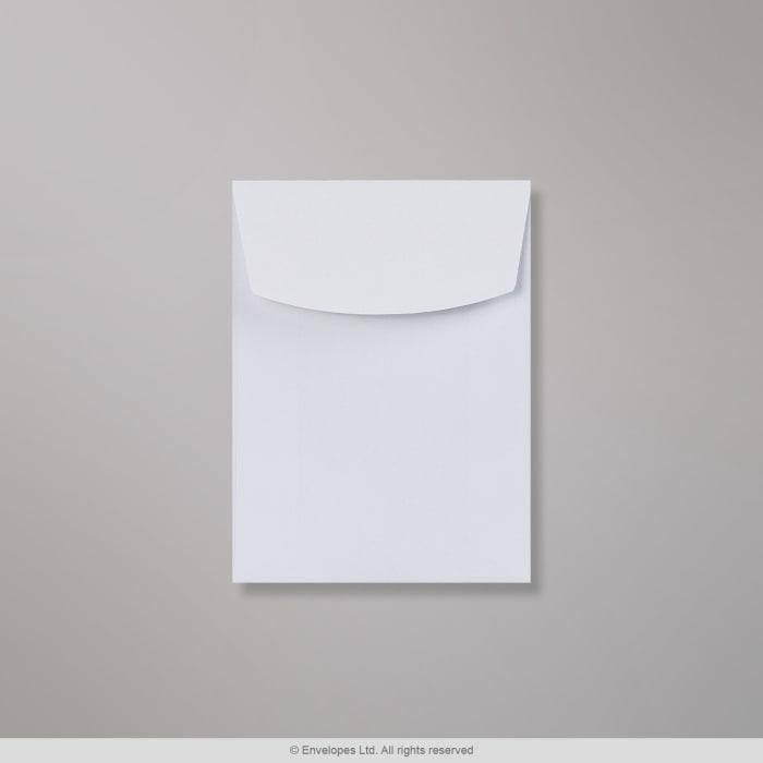 Bílá obálka 102x76 mm