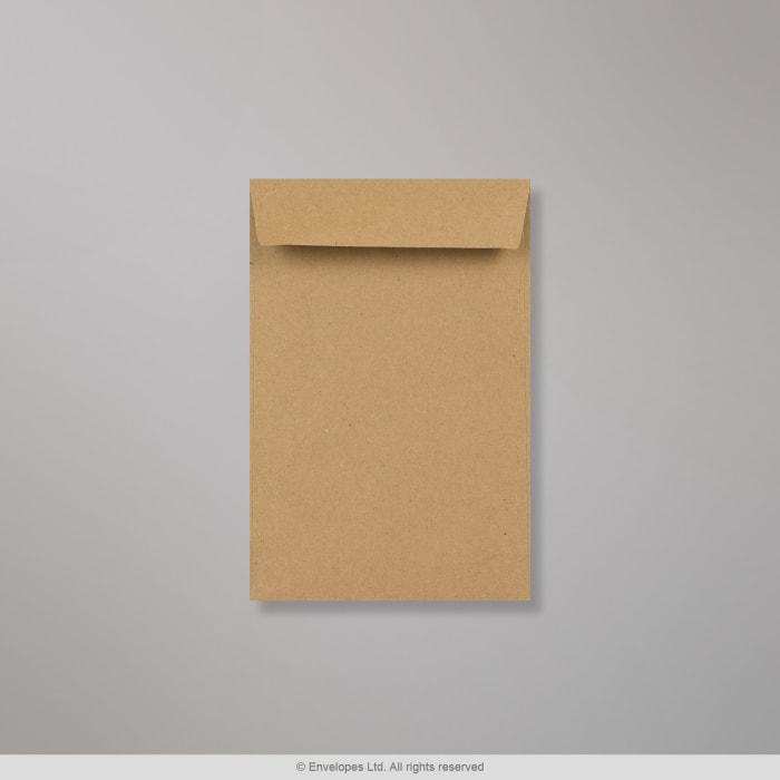 152x102 mm Koperta z szarego papieru