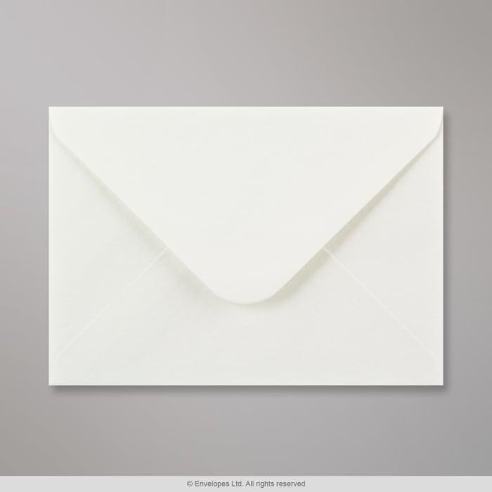 Weißer Struktur Briefumschlag 133x184 mm