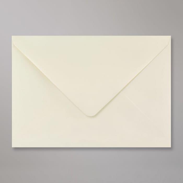Elfenbeinfarbener Briefumschlag 162x229 mm (C5)