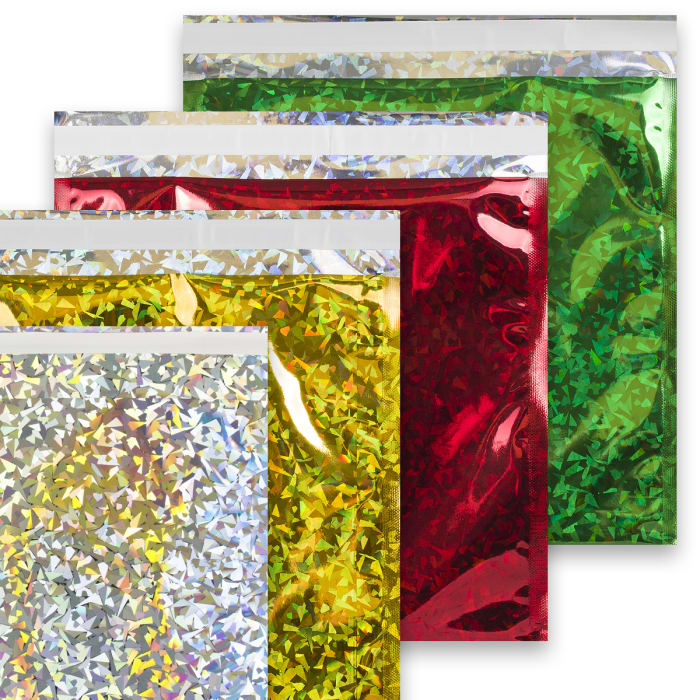 Bolsas de aluminio metalizadas holográficas