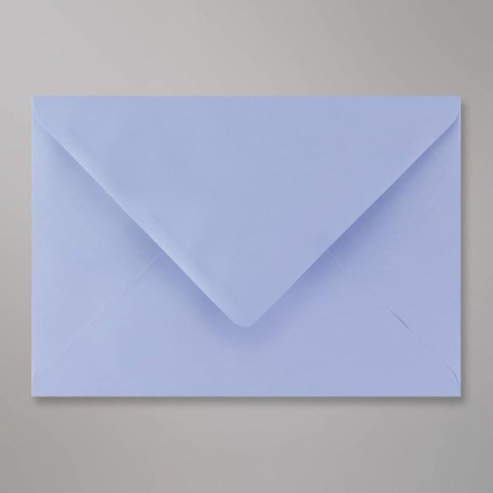 Blaulila Briefumschlag 162x229 mm (C5)