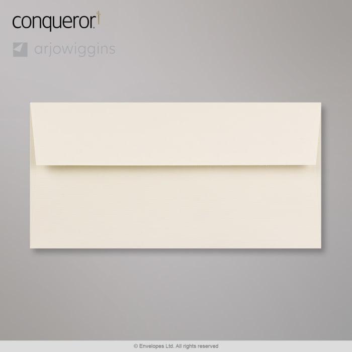 110x220 mm (DL) Busta Conqueror crema