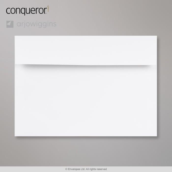 162x229 mm (C5) Diamentowo-biała koperta Conqueror