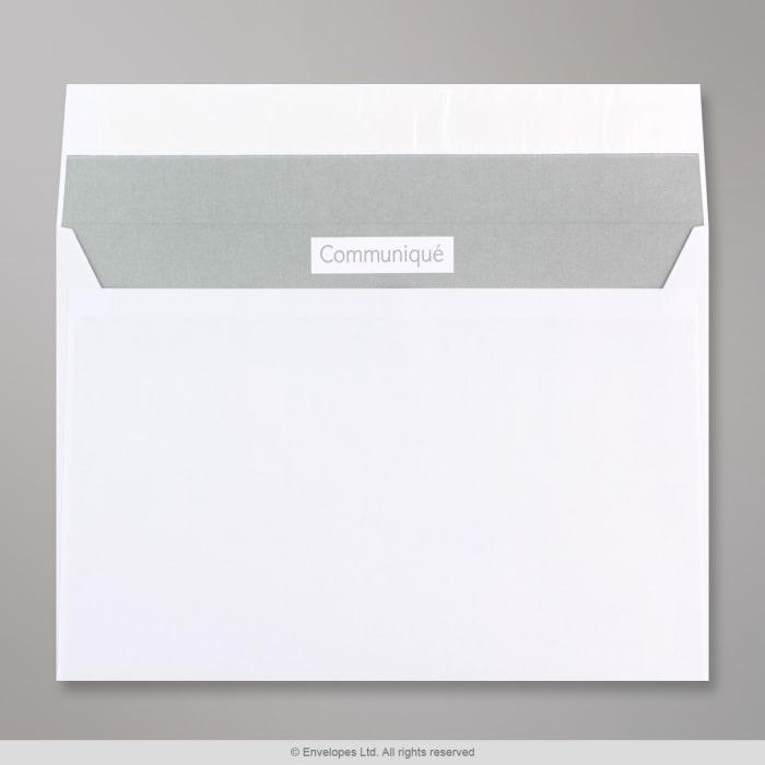 162x229 mm (C5)  Witte envelop communique