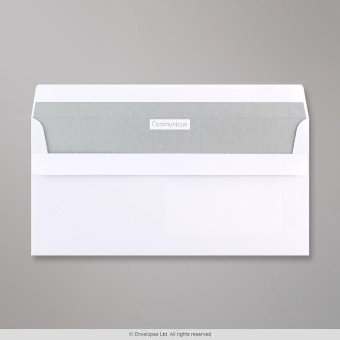 Bílá obálka Communique 110x220 mm (DL)