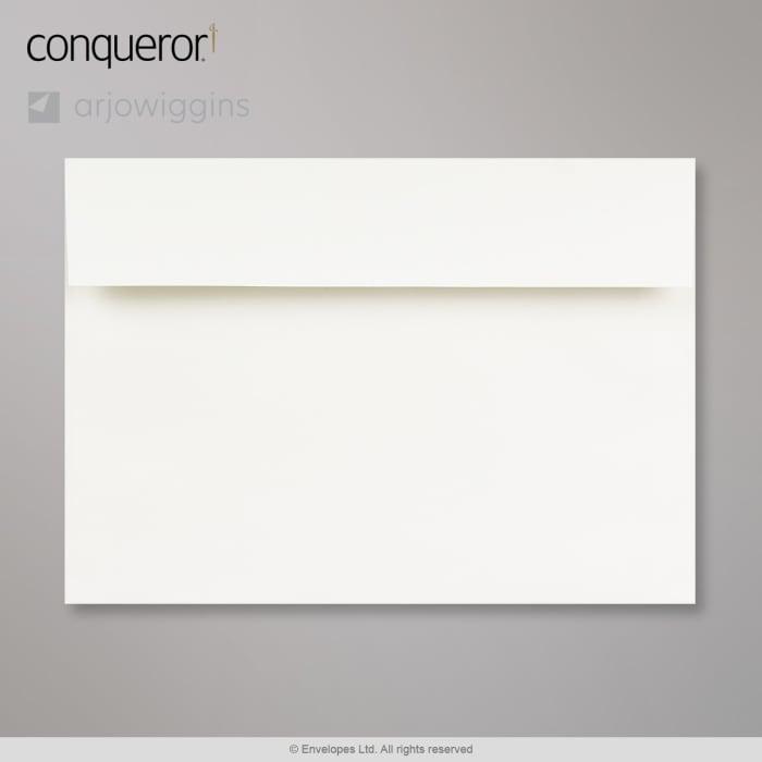 Enveloppe Conqueror vergé blanc 162x229 mm (C5)