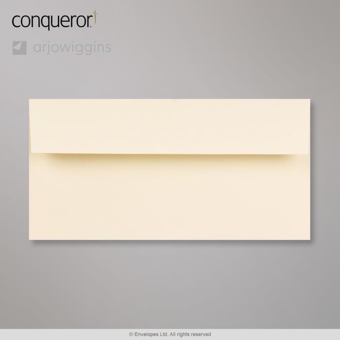 110x220 mm (DL) Vellum Conqueror Laid Envelope