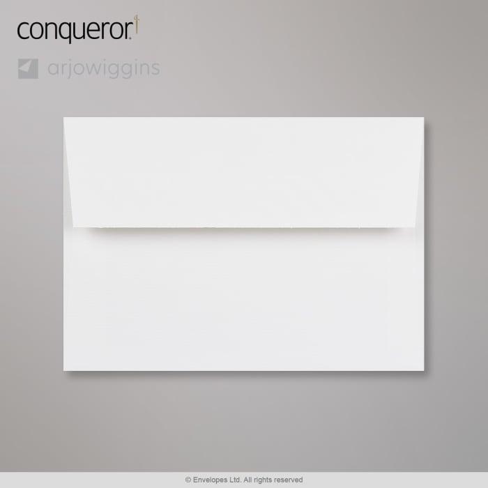 Brillantweißer Conqueror Briefumschlag 114x162 mm (C6)