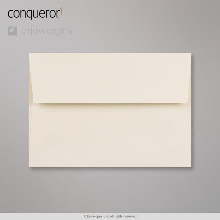 Råhvid Conqueror-konvolut 114x162 mm (C6)