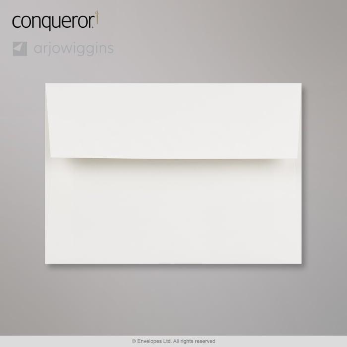 Valkoinen Conqueror-kirjekuori 114x162 mm (C6)