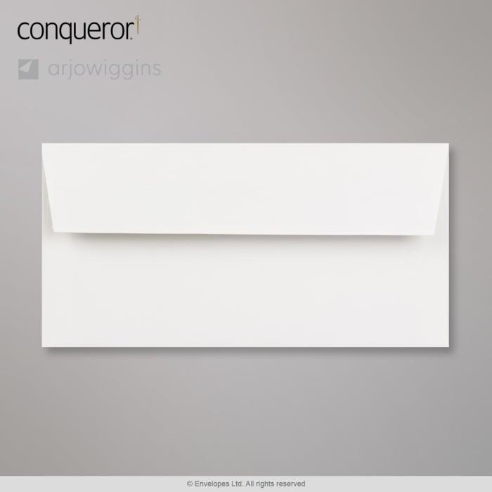 110x220 mm (DL) Busta Conqueror bianchissima