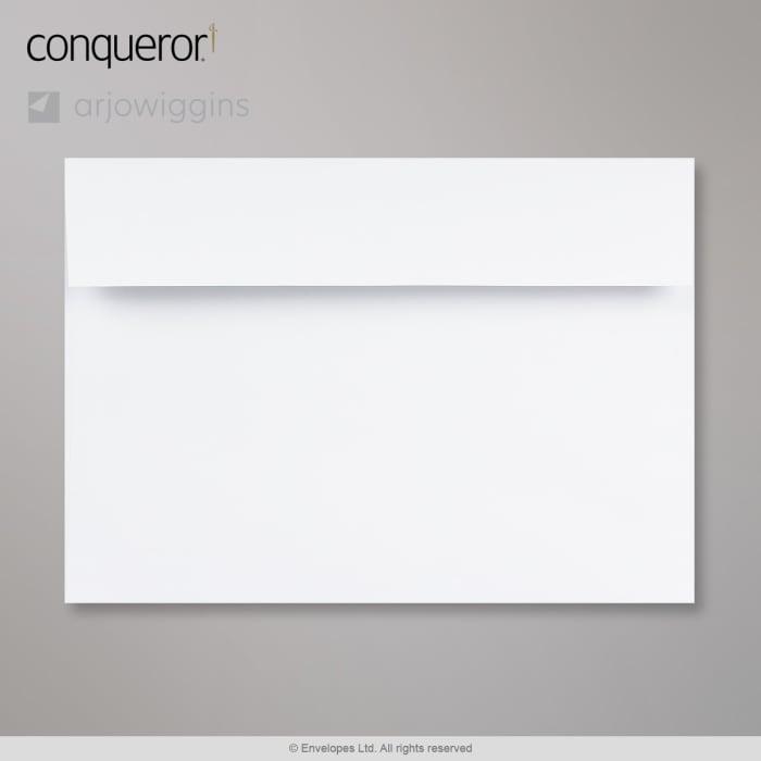 Sobre blanco diamante verjurado Conqueror de 162x229 mm (C5)