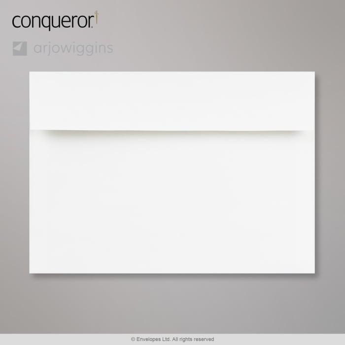 162x229 mm (C5) Busta Conqueror bianca brilliante