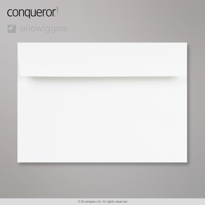 Enveloppe conqueror CX22 blanc glacier 162x229 mm (C5)