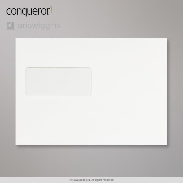 162x229 mm (C5) Brilliant White Conqueror Envelope