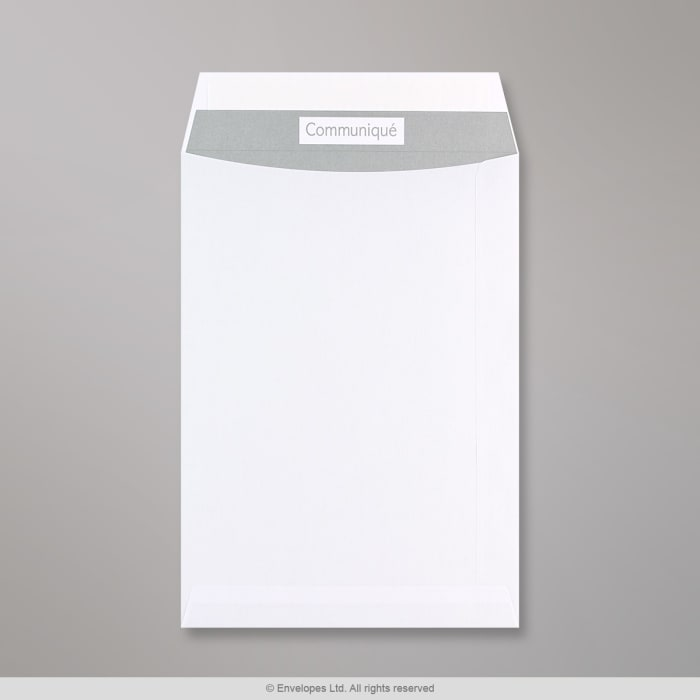 Sobre blanco Communique de 229x162 mm (C5)