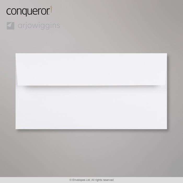 Diamantweißer Conqueror Briefumschlag 110x220 mm (DL)